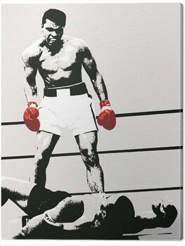 Billede på lærred Muhammad Ali - Gloves