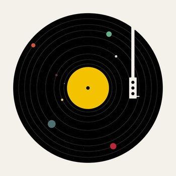 Billede på lærred Music Everywhere