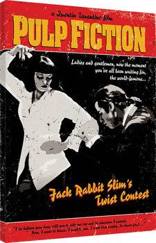 Pulp Fiction - Twist Contest Billede på lærred