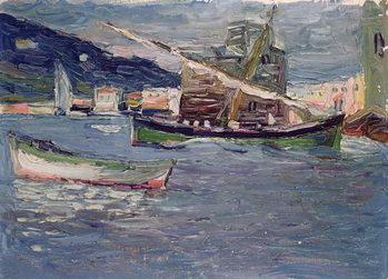 Billede på lærred Rapallo, 1905