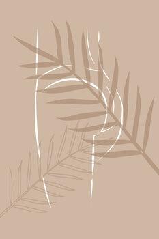 Billede på lærred Sahara Butt