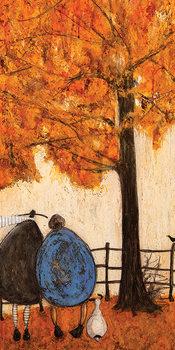 Sam Toft - Autumn Billede på lærred