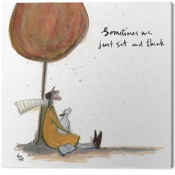 Billede på lærred Sam Toft - Sometimes we Just Sit and Think