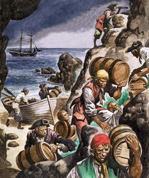 Smugglers Billede på lærred