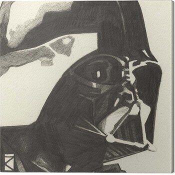 Billede på lærred Star Wars - Darth Vader