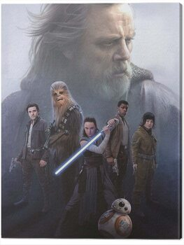 Billede på lærred Star Wars The Last Jedi - Hope