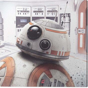 Billede på lærred Star Wars The Last Jedi - Rey Lightsaber Guard