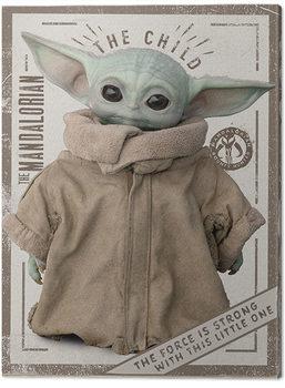 Billede på lærred Star Wars: The Mandalorian - The Child