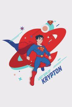 Billede på lærred Superman - Krypton
