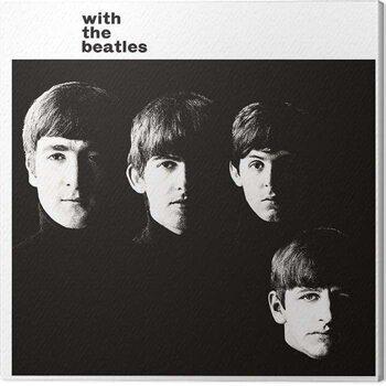 Billede på lærred The Beatles - With the Beatles
