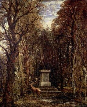 Billede på lærred The Cenotaph to Reynold's Memory