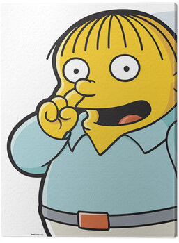 Billede på lærred The Simpsons - Ralph Pick