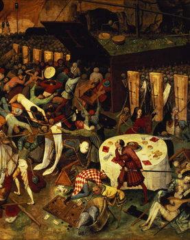 The Triumph of Death, detail of the lower right section, 1562 Billede på lærred