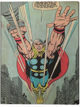 Billede på lærred Thor - Thundergod