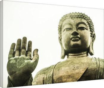 Tim Martin - Tian Tan Buddha, Hong Kong Billede på lærred