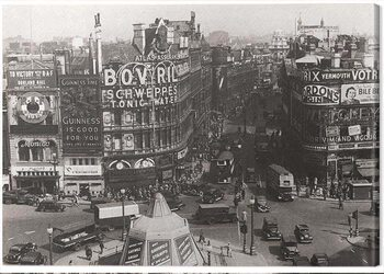Billede på lærred Time Life - Piccadilly Circus, London 1942