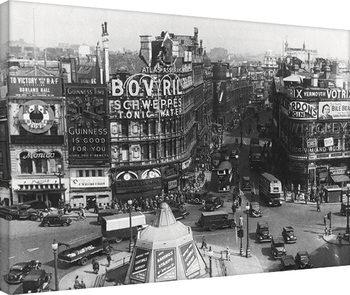 Time Life - Piccadilly Circus, London 1942 Billede på lærred