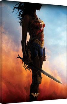 Billede på lærred Wonder Woman - Teaser