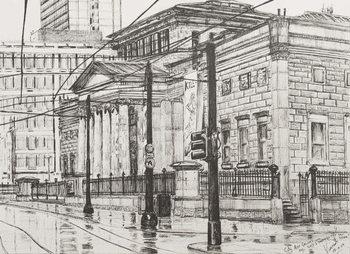 City Art Gallery, Manchester, 2007, Billede på lærred