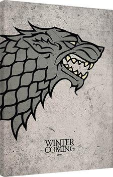 Game of Thrones - Stark Billede på lærred