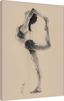 Hazel Bowman - Lord of the Dance Pose Billede på lærred