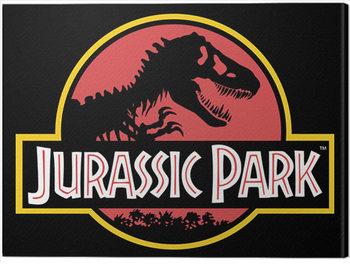 Jurassic Park - Classic Logo Billede på lærred