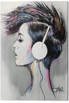 Loui Jover - Inner Beat Billede på lærred