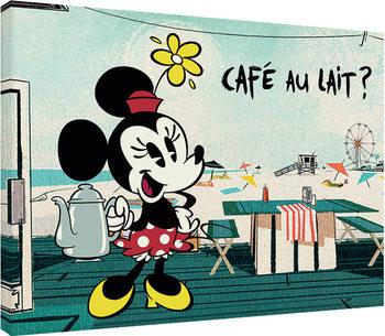 Mickey Shorts - Café Au Lait? Billede på lærred