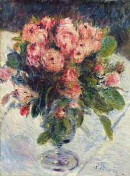 Moss-Roses, c.1890 Billede på lærred