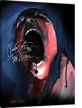 Pink Floyd The Wall - Screamer Billede på lærred