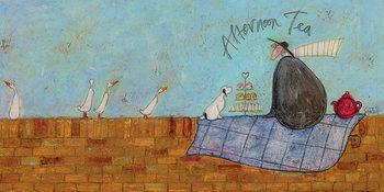 Sam Toft - Afternoon Tea Billede på lærred