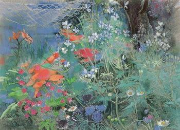 Summer Garden Billede på lærred