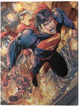 Superman - Wraith Chase Billede på lærred