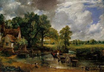 The Hay Wain, 1821 Billede på lærred