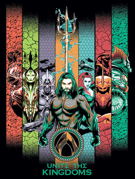 Aquaman - Unite the Kingdoms Billede på lærred