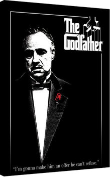 Godfather - Red Rose Billede på lærred