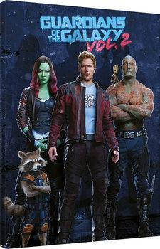 Guardians Of The Galaxy Vol. 2 - Team Billede på lærred