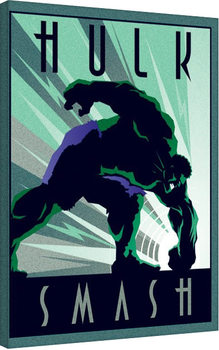 Marvel Deco - Hulk Billede på lærred