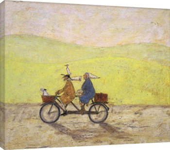 Sam Toft - I Would Walk To The End Of The World With You Billede på lærred