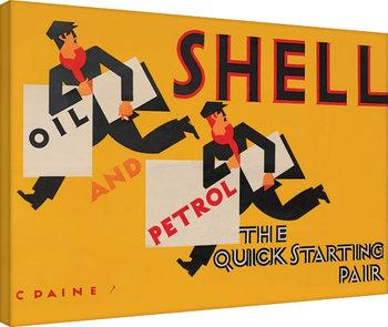Shell - Newsboys, 1928 Billede på lærred