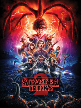 Stranger Things - One Sheet Series 2 Billede på lærred