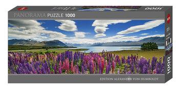 Puzzle Lake Tekapo