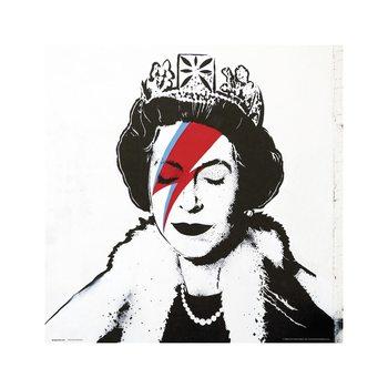 Reproducción de arte Banksy - Queen Bowie