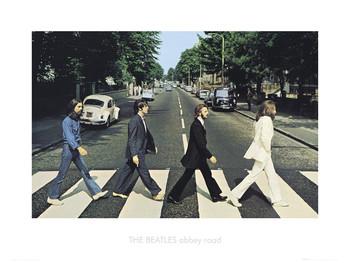 Reproducción de arte Beatles abbey road