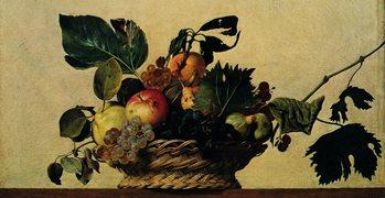 Reproducción de arte  Caravaggio - Cesto Di Frutta