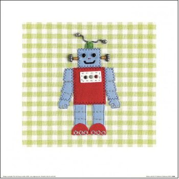 Reproducción de arte Catherine Colebrook - Robots Rule OK