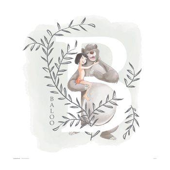 Reproducción de arte Disney - The Jungle Book