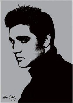 Reproducción de arte  Elvis Presley - Metallic
