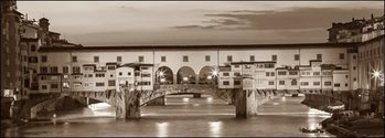 Reproducción de arte  Firenze Ponte Vecchio misure e supporti su