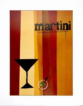 Reproducción de arte Groovy Martini I